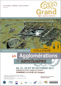 Affiche Grand colloque 2011